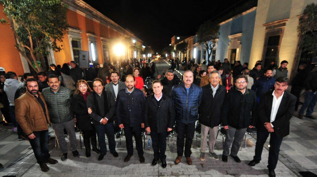 Entrega Aispuro semipeatonalización de calle Hidalgo (2)